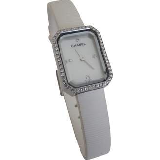 Chanel Premiere Mini White Steel Watches