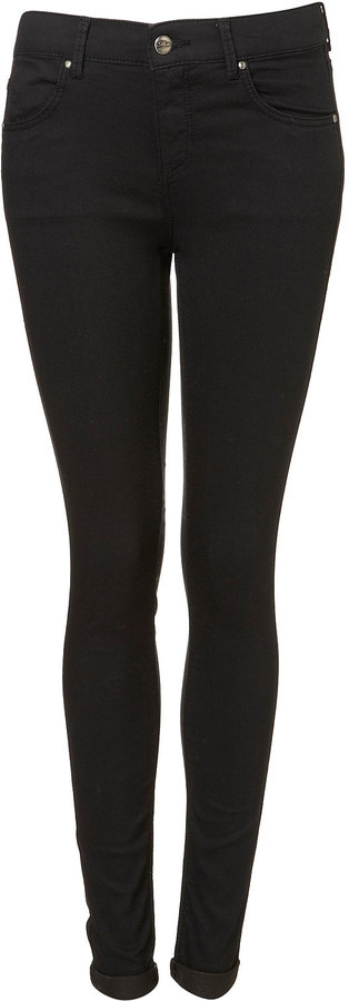 MOTO Black Supersoft Skinny Leigh Jeans