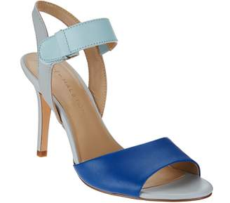 Halston H By H by Slingback Color-Block Leather Heel - Maya