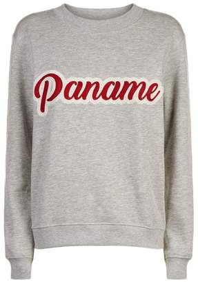 Claudie Pierlot Paname Embroidered Sweater