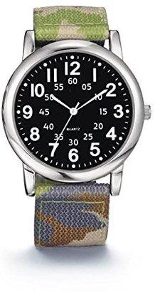 Avon メンズナイロンストラップ腕時計 – Camo
