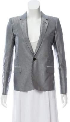 Saint Laurent Metallic Striped Blazer