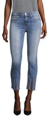 Hudson Nico Slit Hem Tonal Jeans