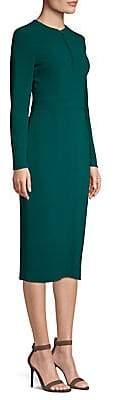 Escada Women's Long-Sleeve Midi Dress
