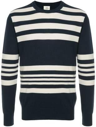 Kent & Curwen striped knitted sweatshirt