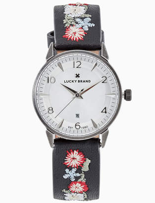 Lucky Brand TORREY MULTI-EMBROIDERED WATCH, 34MM