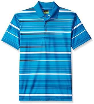 PGA TOUR Men's High Energy Striped Polo