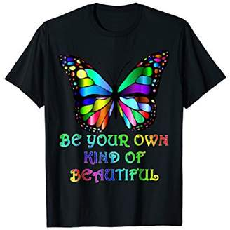 "Your Own Kindness Butterfly T-Shirt ""Be Kind of Beautiful"""