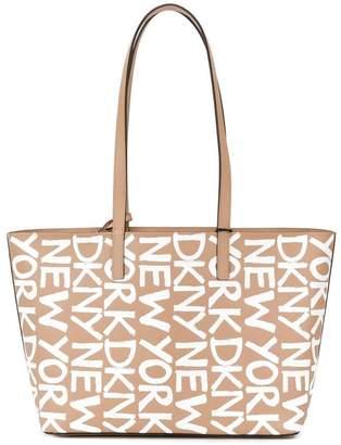 DKNY logo shoulder bag