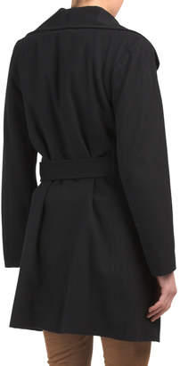 Made In Usa Cashmere Wool Wrap Coat