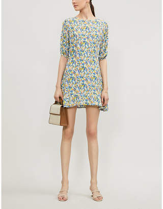 Faithfull The Brand Jeanette floral-print rayon dress