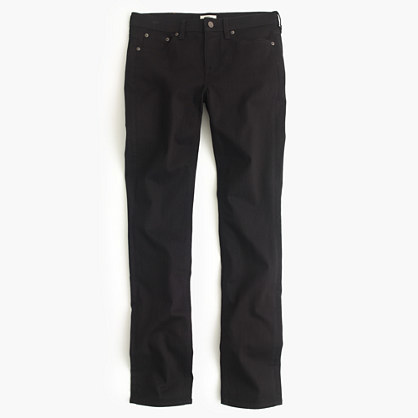 J.CrewPetite matchstick jean in black