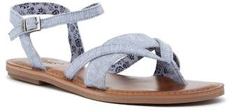 Toms Lexie Chambray Thong Sandal