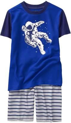 Crazy 8 Crazy8 Astronaut Shortie 2-Piece Pajama Set