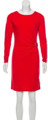 MICHAEL Michael Kors Long Sleeve Knee-Length Dress