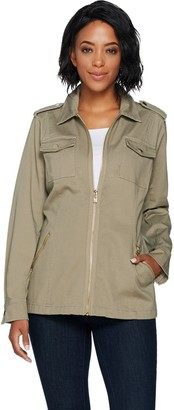 Belle By Kim Gravel Belle by Kim Gravel Military Jacket
