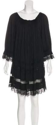 Philosophy di Alberta Ferretti Long Sleeve Mini Dress