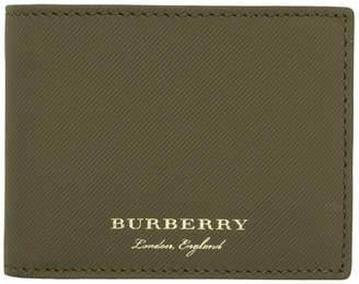Burberry Green Hipfold Wallet