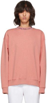 Acne Studios SSENSE Exclusive Pink Flogho Sweatshirt