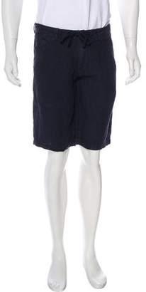 Woolrich 2018 Raw Linen Shorts w/ Tags