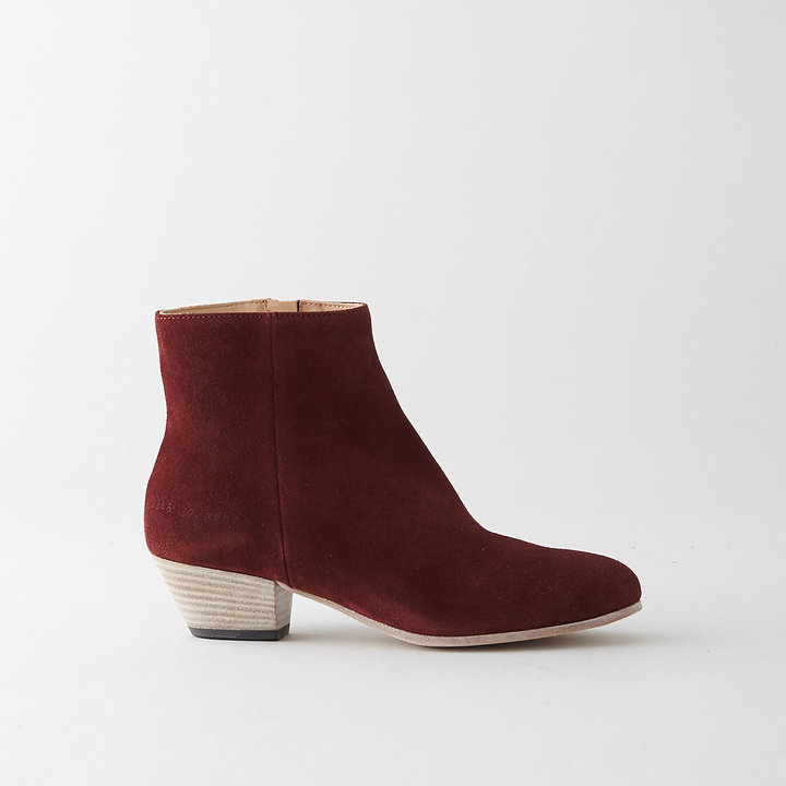 Steven Alan WOMAN BY COMMON PROJECTS zip suede ankle boot