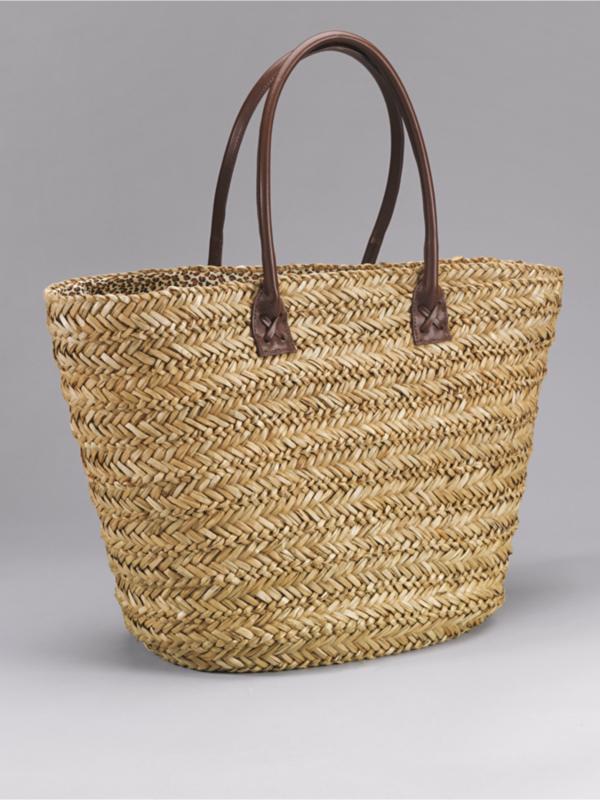 trendy summer straw tote bags popsugar fashion uk. Black Bedroom Furniture Sets. Home Design Ideas