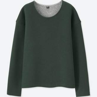 Uniqlo WOMEN Double Face Long Sleeve Pullover