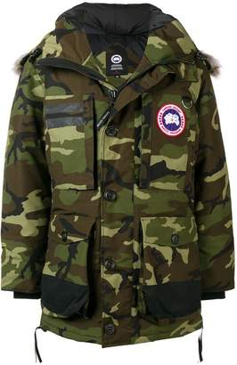 ... Canada Goose hooded parka
