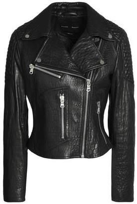 Proenza Schouler Paneled Leather Biker Jacket