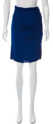 Derek Lam Ruched Knee-Length Skirt