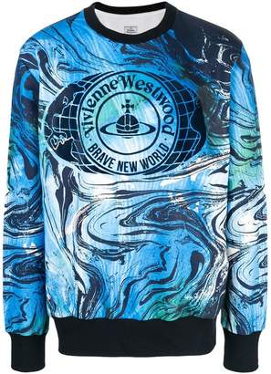 Vivienne Westwood Man front print sweatshirt