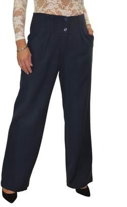 Ice Wide Leg Smart Soft City Trousers