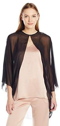 Halston Women's Cape Sleeve Cover up