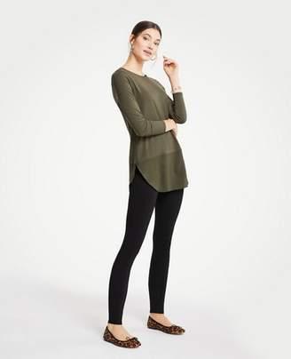 Ann Taylor Tall Side Zip Leggings