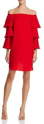Nanette Lepore nanette Off-the-Shoulder Bell Sleeve Dress - 100% Exclusive