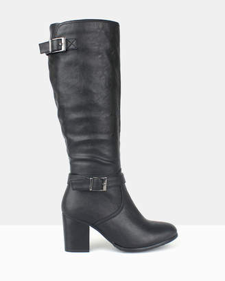 betts Washington Heeled Long Boots