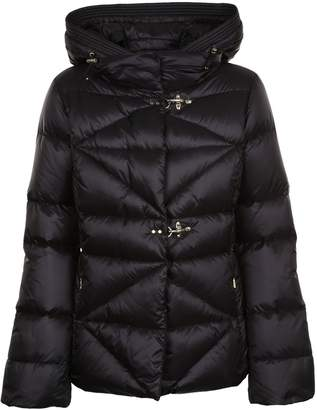 Fay Quilted Hooded Padded Jacket