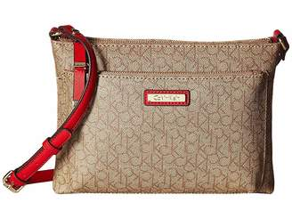 Calvin Klein Key Item Monogram Crossbody Cross Body Handbags