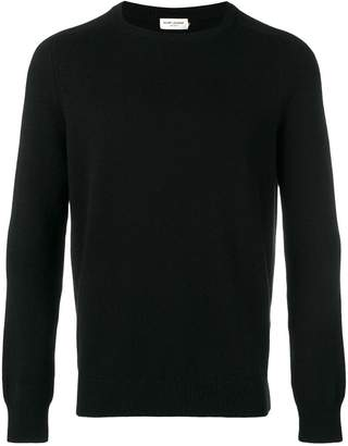 Saint Laurent crewneck cashmere jumper