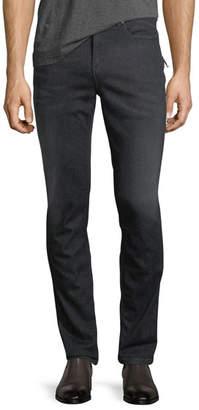Neil Barrett Side-Stripe Slim-Straight Denim Jeans