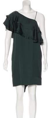 By Malene Birger Ruffle-Accented Mini Dress w/ Tags