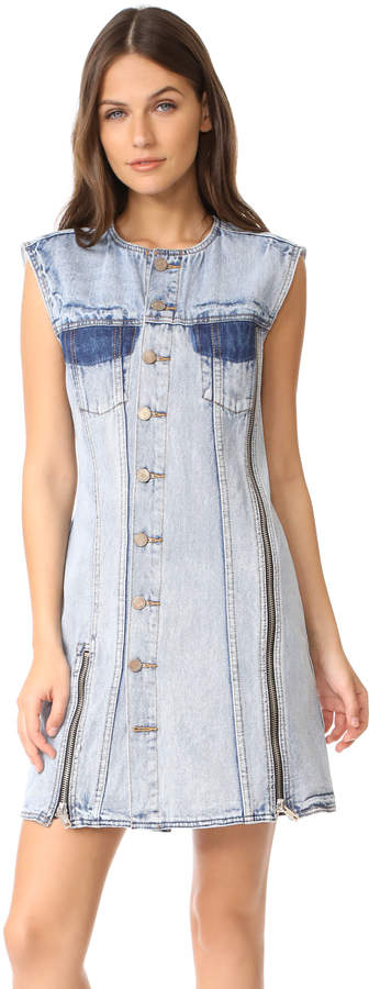 3.1 Phillip Lim 3.1 Phillip Lim Asymmetrical Denim Dress