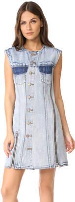 3.1 Phillip Lim Asymmetrical Denim Dress $495 thestylecure.com