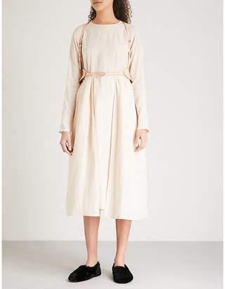 RENLI SU Pocket-detail woven midi dress
