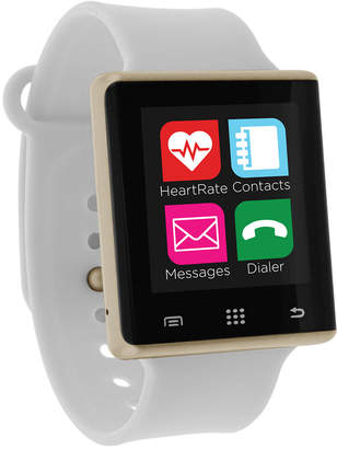 iTouch Unisex Pulse White Silicone Strap Smart Watch 41mm