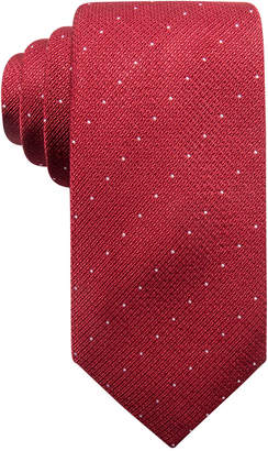 Alfani Men's Parkside Dot Silk Slim Tie