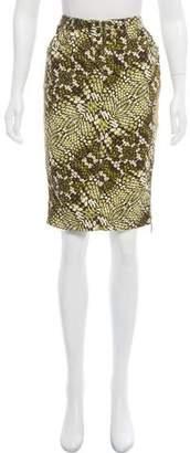 Just Cavalli Printed Knee-Length Skirt