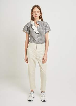 Isabel Marant Haloah Coated Linen Trousers