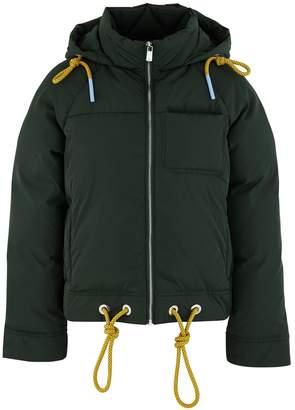 Lu Mei Crystal puffer jacket