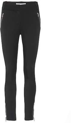 Veronica Beard Ash Seamed skinny trousers